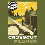 Crosscut Pilsner 32oz Crowler